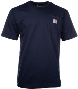 Alaska Airlines T-Shirt Mens Carhartt with Pocket