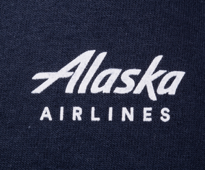 Unisex T-Shirt Short Sleeve Alaska Airlines Carhartt Pocket
