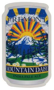 Mountain Daisy Can Sticker
