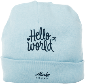 Infant Hello World Cap
