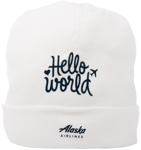 Alaska Airlines Cap Infant