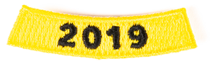 Ride to Fight Suicide 2019 Rocker Patch