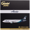 Alaska Airlines Model 1/200 scale Gemini A320 Standard Livery image 2