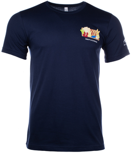 Unisex T-Shirt Short Sleeve Fruit & Cheese