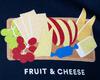 Alaska Airlines T-Shirt Unisex Fruit & Cheese image 3