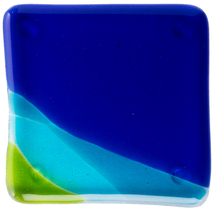 Alaska Airlines Glass Coaster