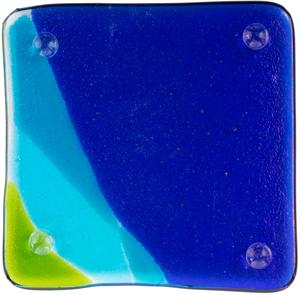 Alaska Airlines Glass Coaster