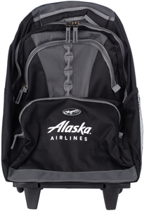 Alaska Airlines Genesis Rolling Backpack