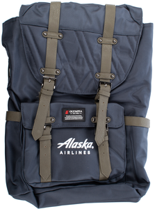 Alaska Airlines Backpack Olympia Hopkins