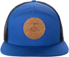 7 Panel Leather Patch Hat image 1