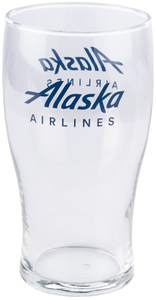 Alaska Airlines Pub Glass 20 oz