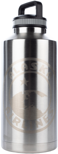 Alaska Airlines XL Double Wall Stainless Growler 64 oz