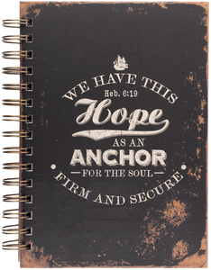 Hope Anchor Notebook