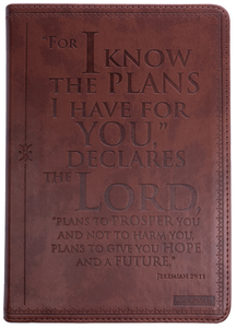 Rock Church Jer 29:11 Brown Flexcover Journal