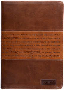 Two-Tone Courageous Journal