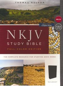 NKJV Study Bible Comfort Print