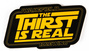 The Thirst is Real Sticker