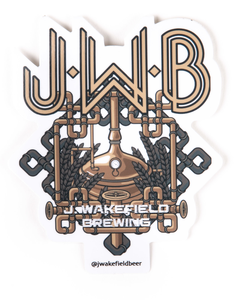J. Wakefield Full Logo Sticker