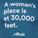 Unisex T-Shirt Short Sleeve Alaska Airlines A Woman's Place image 2