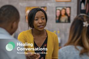 Healing Conversations Postcard