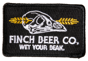 "Finch Beer Co. 3"" x 2"" Patch"