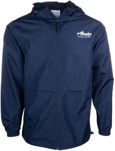 Unisex Alaska Airlines Full Zip Lightweight Jacket