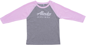 Youth Alaska Airlines Baseball Tee