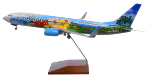 Alaska Airlines Model 1/100 scale Skymarks Supreme 737-800 Spirit of the Islands