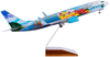 Alaska Airlines Model 1/100 scale Skymarks Supreme 737-800 Spirit of the Islands image 2