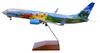 Alaska Airlines Model 1/100 scale Skymarks Supreme 737-800 Spirit of the Islands image 1