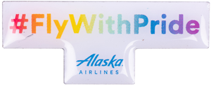 Alaska Airlines #FlywithPride Pin