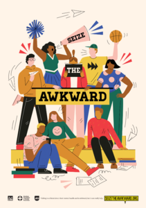 Seize the Awkward Small Posters (Pack of 5)