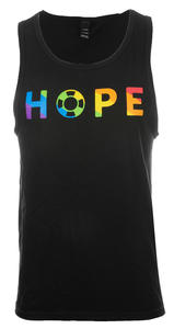 Unisex Rainbow HOPE Tank Top