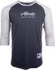 Alaska Airlines T-shirt Mens Champion Baseball image 1
