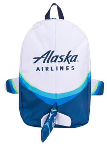 Alaska Airlines Backpack Airplane