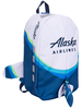 Alaska Airlines Backpack Airplane image 2