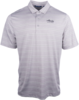 Alaska Airlines Polo Mens Cutter and Buck Heather Stripe  image 1