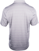 Alaska Airlines Polo Mens Cutter and Buck Heather Stripe  image 2