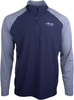 Alaska Airlines Sweatshirt Mens Cutter and Buck Overknit 1/2 Zip image 1