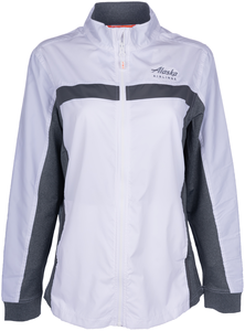 Alaska Airlines Jacket Ladies Cutter and Buck Full Zip
