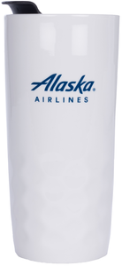 Alaska Airlines Porcelain Travel Tumblers h2go Salerno