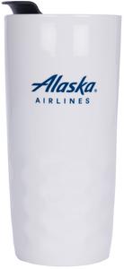 Alaska Airlines Porcelain Travel Tumblers h2go Salerno