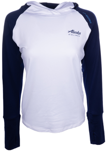Women's Alaska Airlines Brooks Dash Hoodie