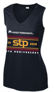 STP 2019 Performance Women's Sleeveless V-Neck T-Shirt
