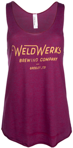 Women's WeldWerks Brewing Racerback Tank