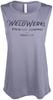 Women's WeldWerks Brewing Scoop Muscle Tank-Teal image 1