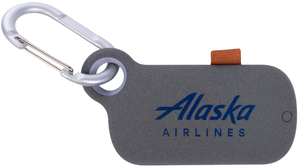 Alaska Airlines Pebble Charger