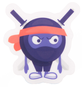 Sword Ninja Sticker