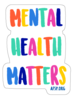 Mental Health Stickers (Pack of 15) image 8