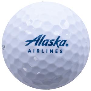 Alaska Airlines Callaway Golf Balls - Sleeve of 3